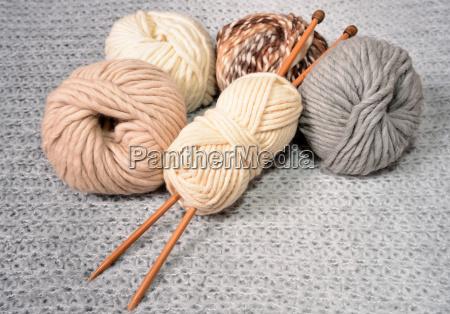 tejido a mano de lana