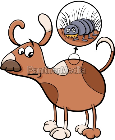 mascotas insecto animal de peluche perro