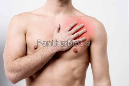 peligro masculino pecho dolor emergencia sabio