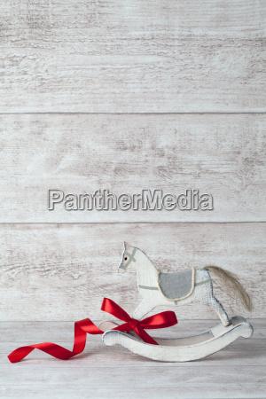 rocking horse background