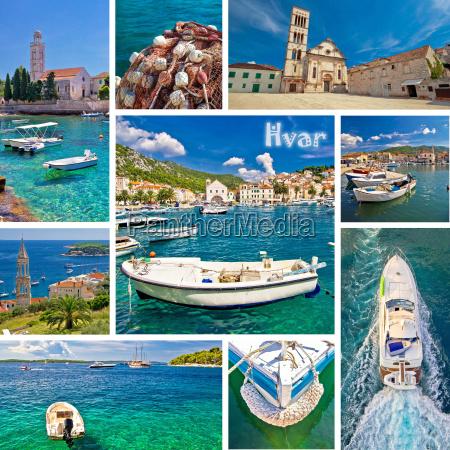 collage de destino turistico de la