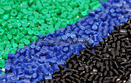 granulos de plastico de textura de