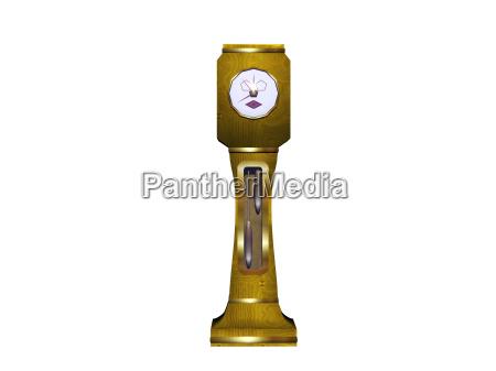 reloj de comic con pendulo y