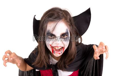 celebrar celebra halloween traje vampiro infancia