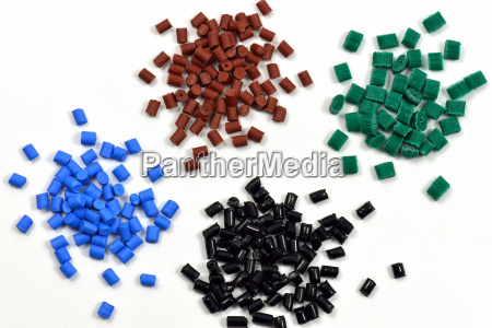de plastico granulos polimero
