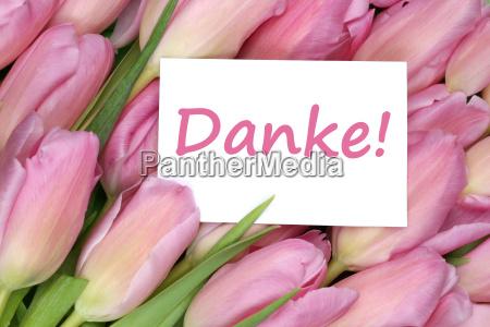 gracias tarjeta de regalo con flores
