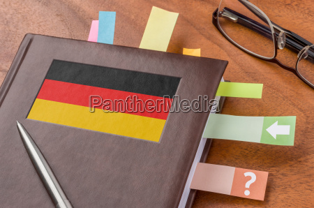bandera politica diario fecha planificador negocios