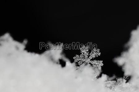 invierno frio de cristal nieve navidad