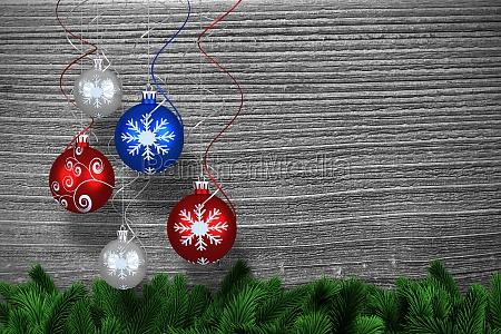 imagen compuesta de la decoracion digital