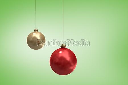 imagen compuesta de las bolas de