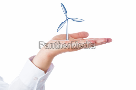 el aumento de la turbina de