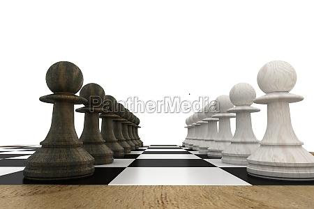 estrategia ocio juego juega ilustracion digital