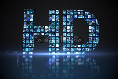 hd hecho de pantallas digitales en