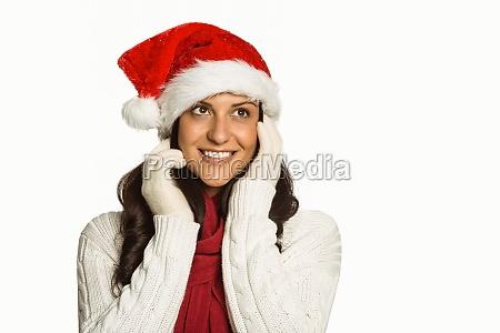 mujer risilla sonrisas mano manos hermoso