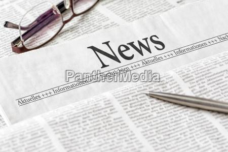 noticias encabezadas por el periodico