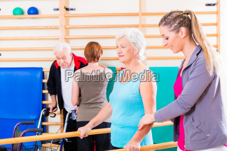 remobilisering med seniorer i fysioterapi