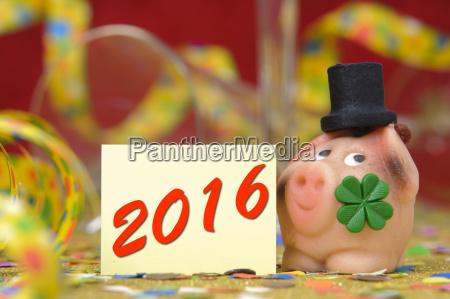anyo nuevo 2016 con la hoja