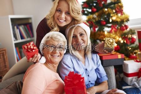 momentos familiares en navidad