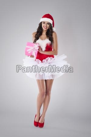 rosa regalo de navidad de sexy