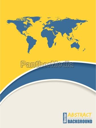 corporate brochure background design