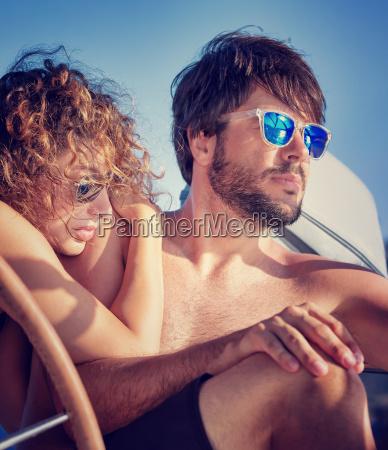 fiesta vacaciones romantico retrato verano veraniego