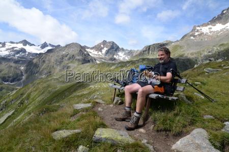 alpes caminata cumbre austria vagabundo destacados