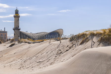 faro warnemuende sand dune