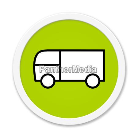 round button delivery van