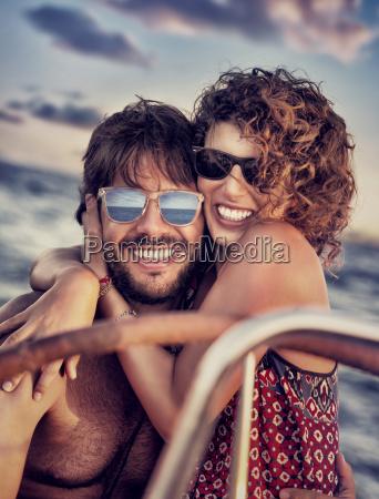 romantico retrato navegacion velero retrato de
