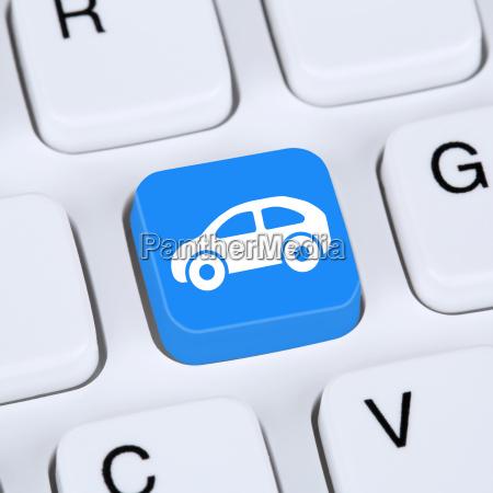 internet concept car o vehiculo comprar
