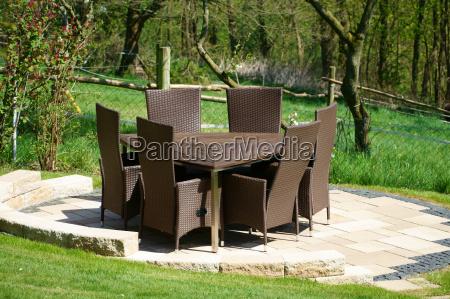 muebles del jardin de la rota