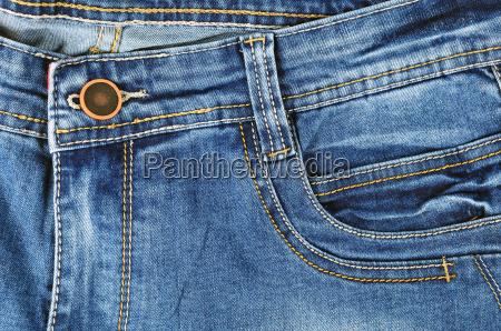azul pantalones la luz azul cremallera