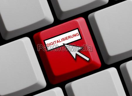 la digitalizacion del teclado informatico