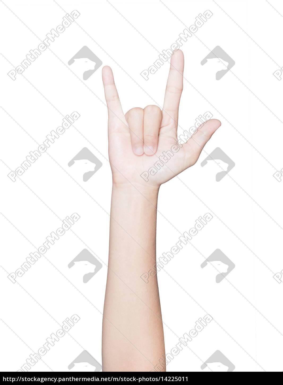 primer, pie, gesto, de, fan, club - 14225011