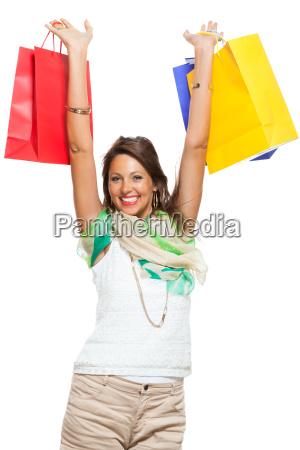 mujer compras bolsa venta salas