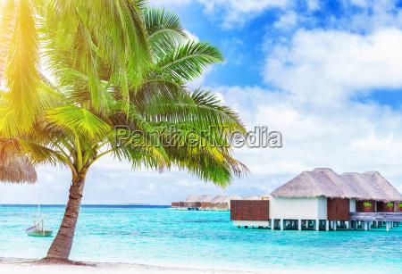 paisaje paraiso playa