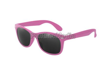 gafas de sol wayfarer en rosa