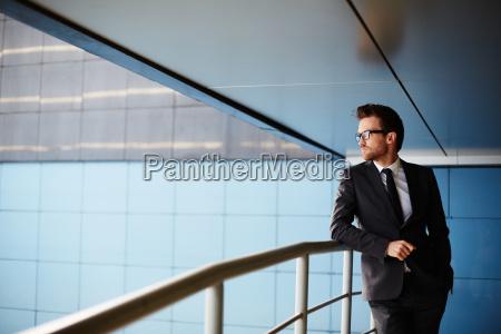 hombre de negocios elegante