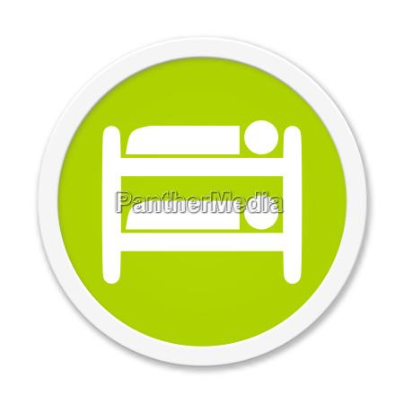 round button shows loft bed