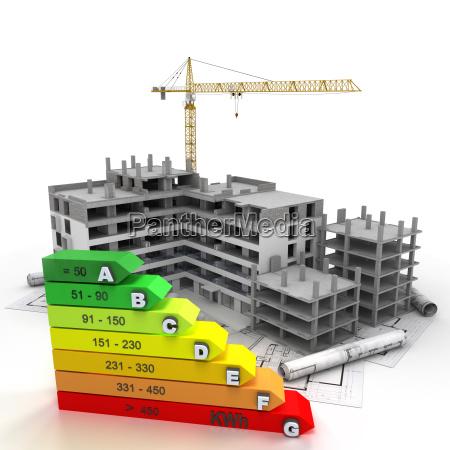 sitio de construccion clasificado energeticamente eficiente