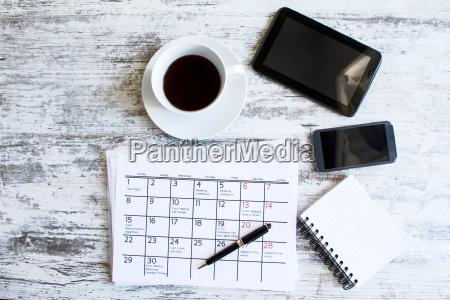 oficina nota fechas escribir disenyo primer