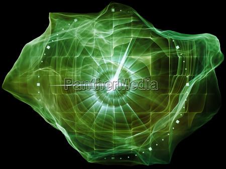 avance de la mente de particulas