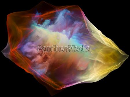 particulas de luz de la mente