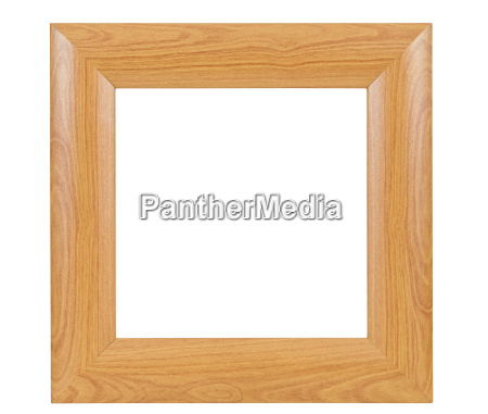 oscuro marco de madera cuadrada