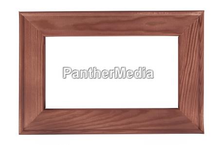 marco de madera oscura en antecedentes