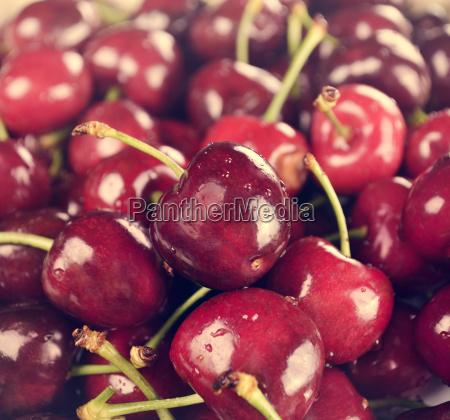 cerezas dulces