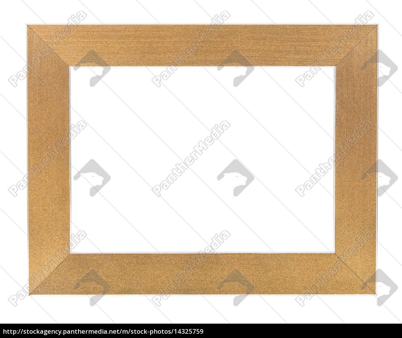 marco, vacío, de, oro - 14325759