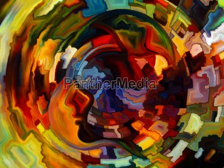 danza de la pintura interior