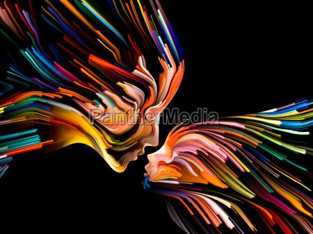 paradigma de la pintura mental
