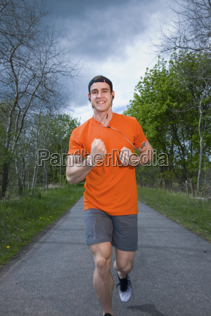 runner mostrar el punyo